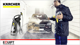 Get your Professional Cleaning Machine from the German Karcher®