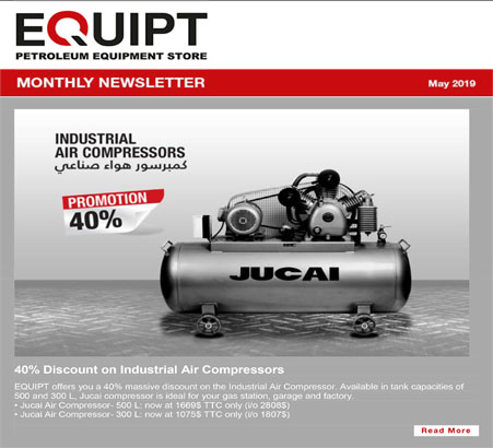 EQUIPT E-newsletter (May 2019)